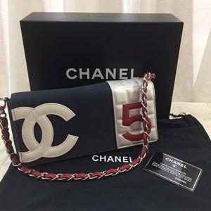 🆕 Chanel CC No 5 Chain Shoulder Bag, in Box